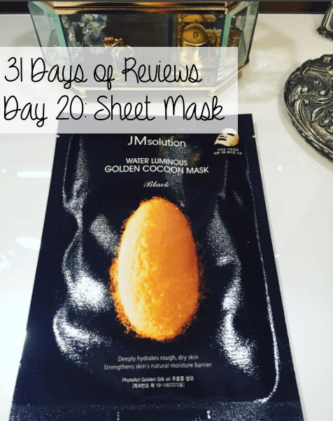 31 Days of Reviews, Day 20: JM Solution Water Luminous