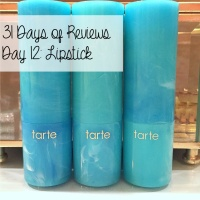 31 Days of Reviews, Day 12: Tarte Rainforest of the Sea Color Splash Lipstick