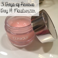 31 Days of Reviews, Day 19: Clinique Moisture Surge Extended Thirst Relief
