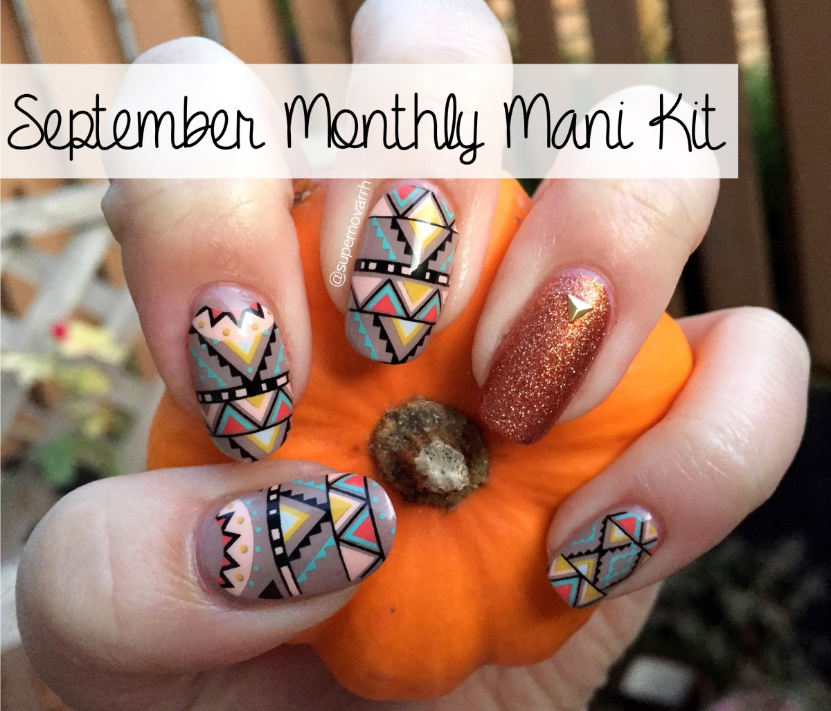 September @NinaNailedIt Monthly Mani Kit