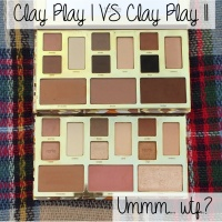 Ummm...wtf..? | Tarte Clay Play Face Shaping Palette I VS II | Comparison Swatches & Conspiracy Theories 🤦🏻‍♀️🤷🏻‍♀️🕵🏻‍♀️