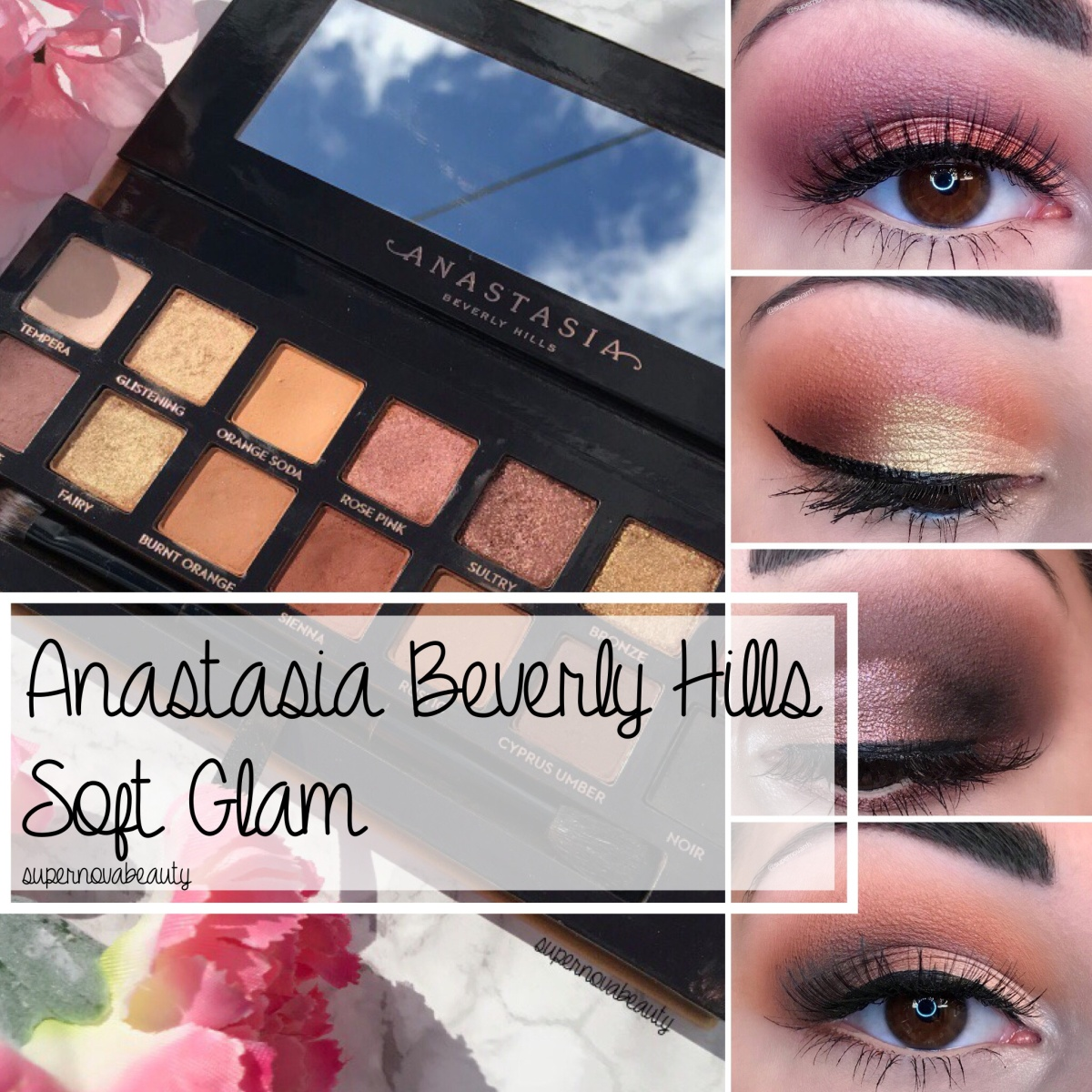 Anastasia Beverly Hills Soft Glam | Review, Swatches + 5 Looks