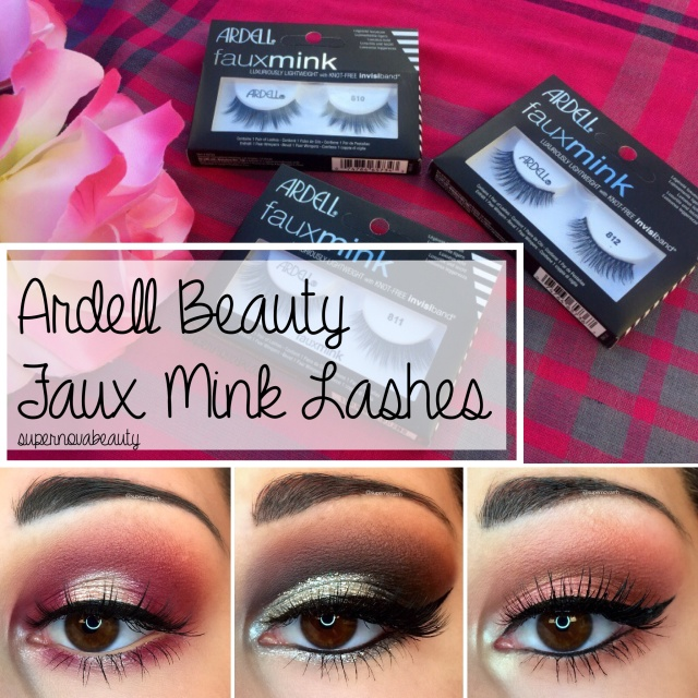 fb78a317b65 Ardell Beauty Faux Mink Lashes | Overview + Finished Looks – SUPERNOVABEAUTY
