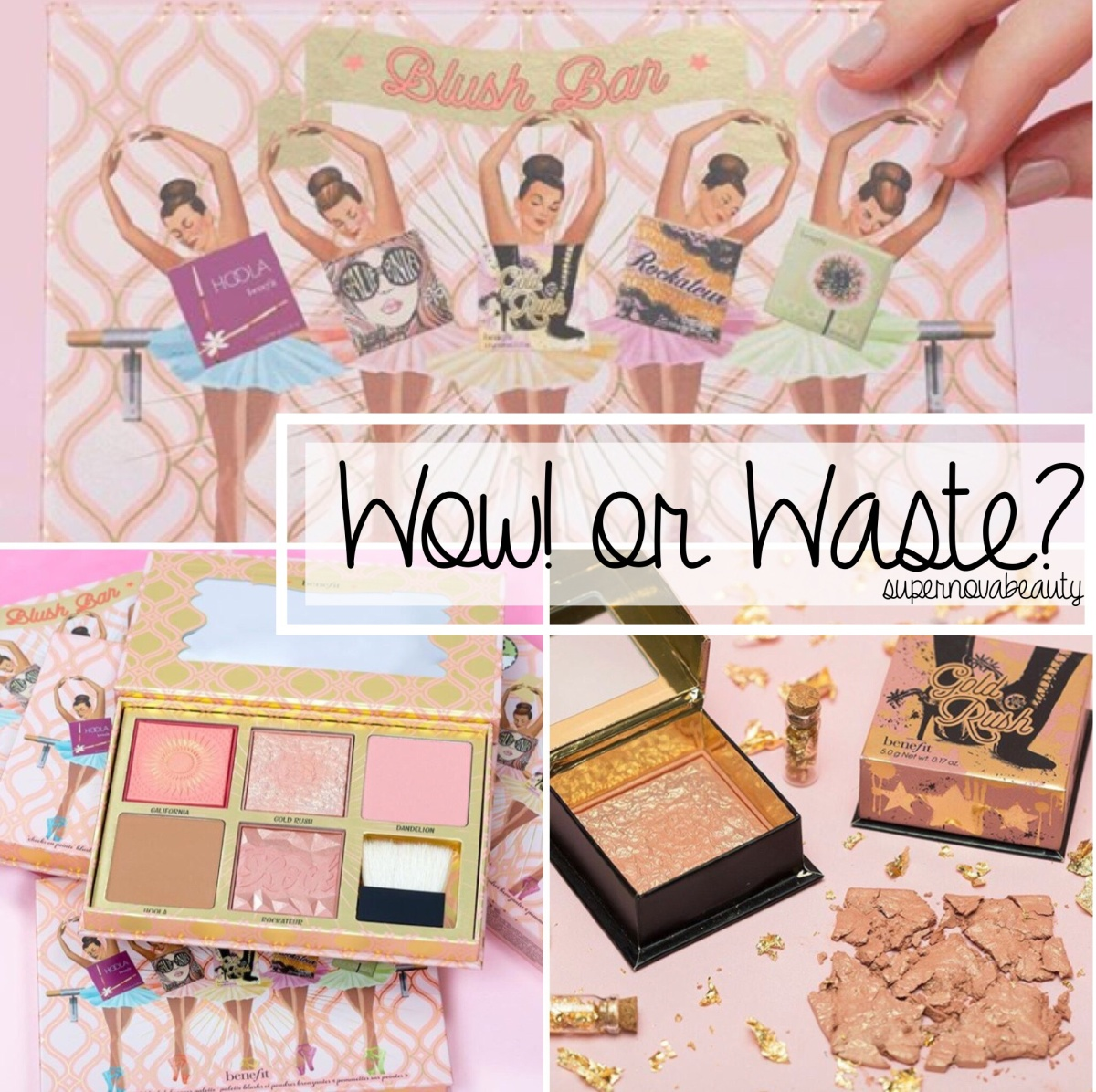 Wow! or Waste? Benefit Cosmetics Blush Bar Cheek Palette