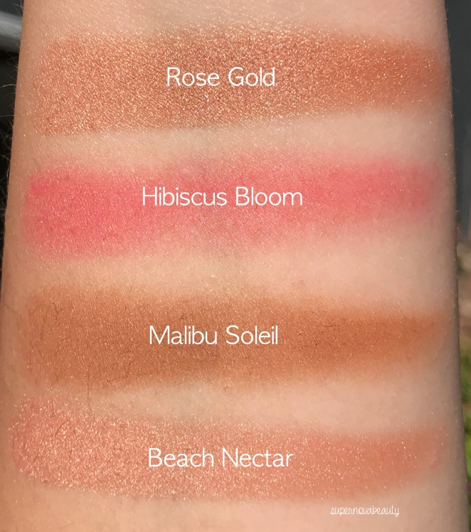 chrissy swatches