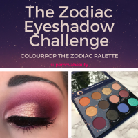 ♐️The Zodiac Eyeshadow Challenge♋️ | Kathleen Lights X Colourpop The Zodiac Shadow Palette