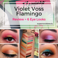Violet Voss Flamingo PRO Eyeshadow Palette |  Review, Swatches + 6 Eye Looks