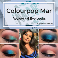 Colourpop Mar Shadow Palette | Review + 6 Eye Looks