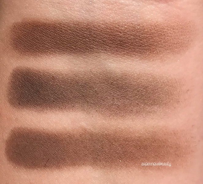 brow swatches