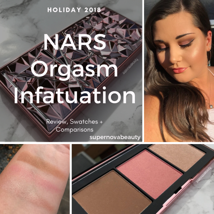 NARS Orgasm Infatuation Palette | Holiday 2018 | Review