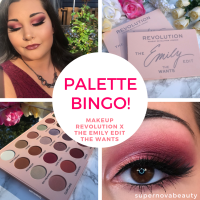 Palette Bingo! | Makeup Revolution X The Emily Edit The Wants Eyeshadow Palette