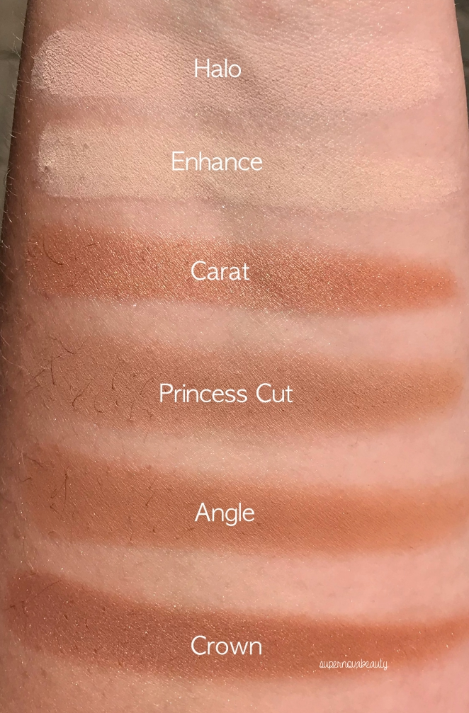 tarte swatches