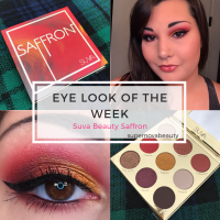 Eye Look of the Week | Suva Beauty Saffron
