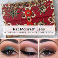 Pat McGrath Labs MTHRSHP Sublime: Bronze Temptation | Holiday 2018 | Review, Swatches + 4 Looks