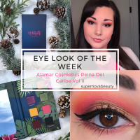 Eye Look of the Week | Alamar Cosmetics Reina Del Caribe Vol II