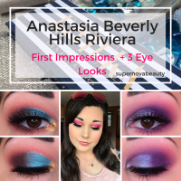 Anastasia Beverly Hills Riviera Palette | First Impressions + 3 Eye Looks!