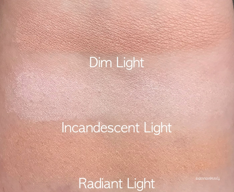 hourglass swatches