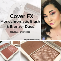 Cover FX Monochromatic Blush and Bronzer Duos | Review + Swatches