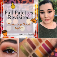 Fall Palettes Revisited: Colourpop Good Sport