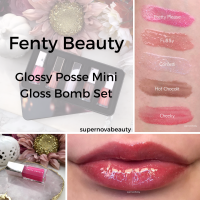 Fenty Beauty Glossy Posse Mini Gloss Bomb Set| Review, Lip Swatches and Why I'm Returning It!