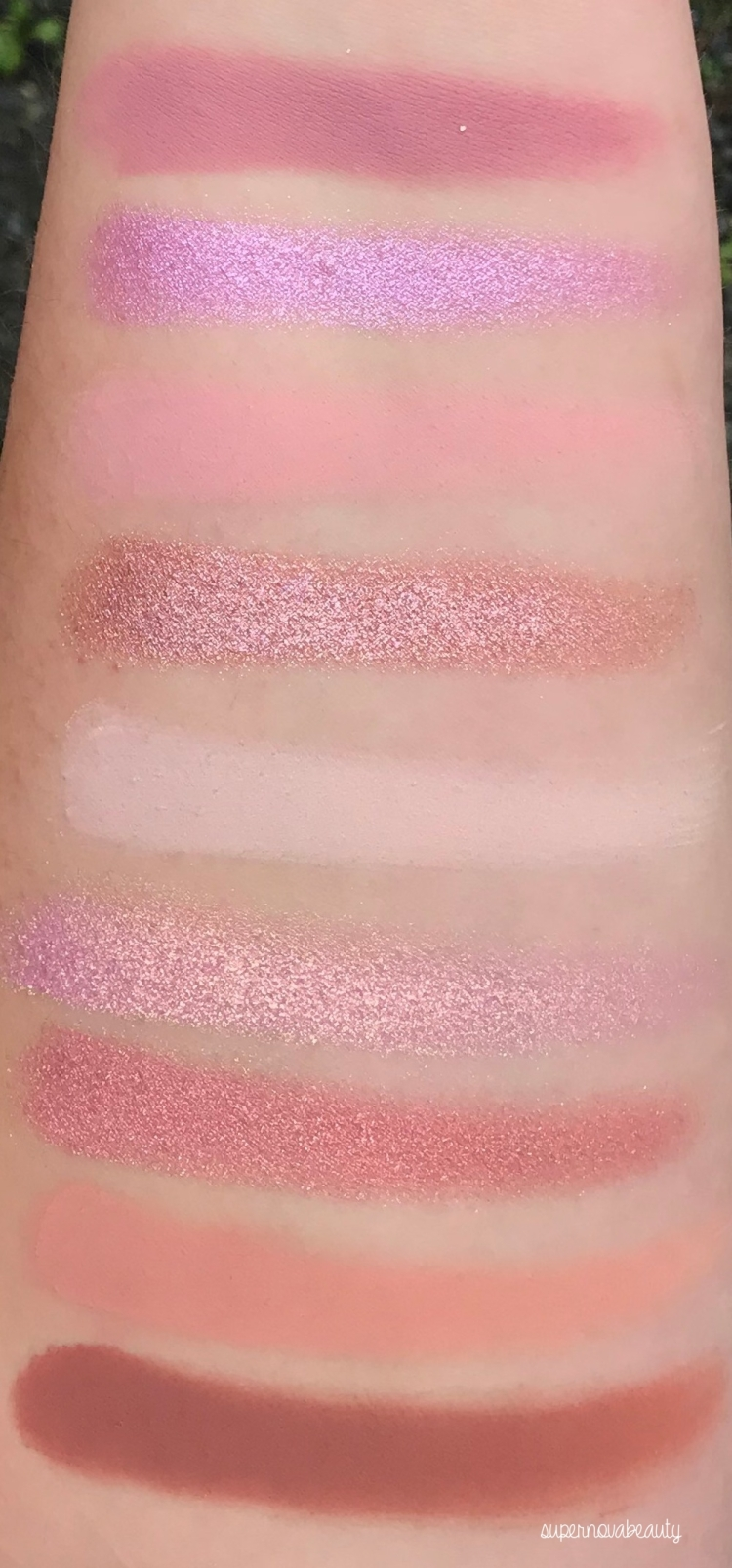 light swatches