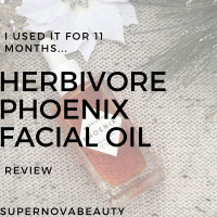 I tried the Herbivore Phoenix Facial Oil for 11 months | Review