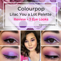 Colourpop Lilac You a Lot | Review + 3 Eye Looks