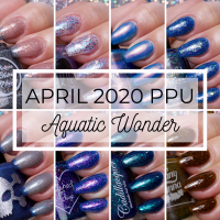 April 2020 Polish Pickup Haul | Aquatic Wonder