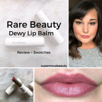 Rare Beauty Dewy Lip Balm | Review + Swatches