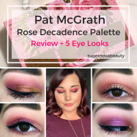 Pat McGrath Labs MTHRSHP Rose Decadence Palette | Review + 5 Looks